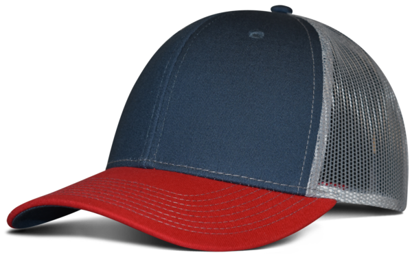 Slate Blue/Red/Grey